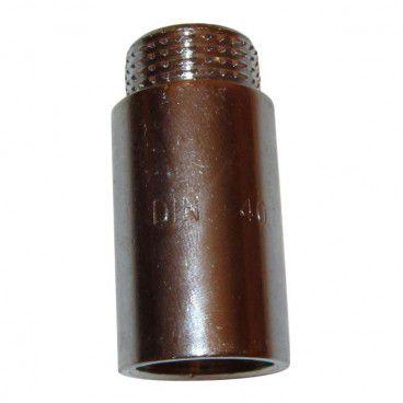 """Przedłużka chrom gwint wewnętrzny / zewnętrzny 1/2"""" 40 mm"""