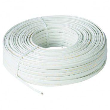 Przewód YDYp 3 x 2,5 mm2 750 V biały 100 mb