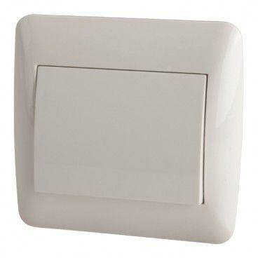 Przycisk dzwonek Diall biały