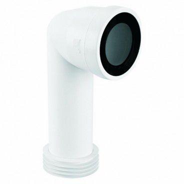 Przyłącze WC kątowe McAlpine 90 dł. 236 mm