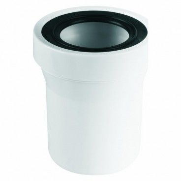 Przyłącze WC proste McAlpine dł. 150 mm