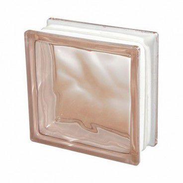 Pustak szklany Seves 1908 WRSI różowy