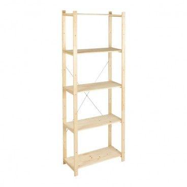 Regał drewniany Form Symbios 28 x 65 x 170 cm 40 kg