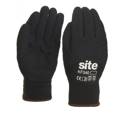 Rękawice ochronne Site czarne M