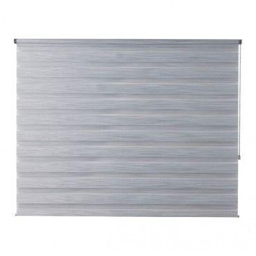 Roleta dzień/noc Colours Kala 176,5 x 180 cm szara