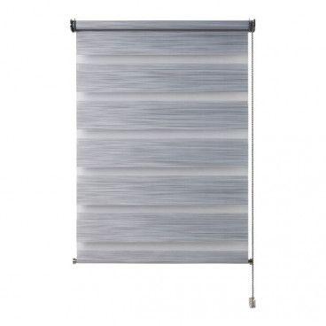 Roleta dzień/noc Colours Kala 56,5 x 180 cm szara