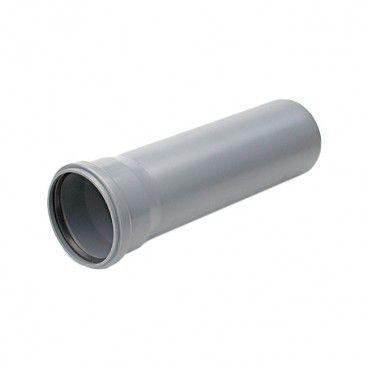 Rura kanalizacyjna z kielichem Pipelife 50 / 1000 mm