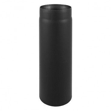 Rura prosta Darco 2 x 150 mm x 1 m czarna