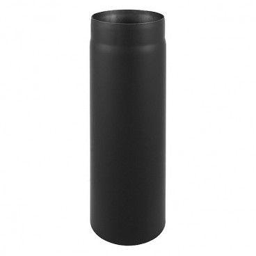 Rura prosta Darco 2 x 180 mm x 0,5 m czarna