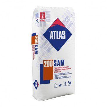 Samopoziomujący podkład podłogowy Atlas SAM 200 25 kg