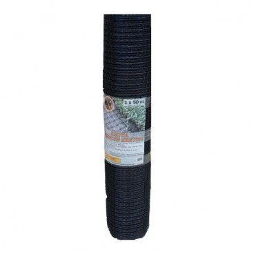 Siatka na krety 1 x 50 m czarna