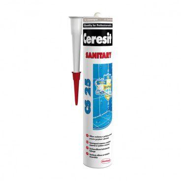 Silikon sanitarny Ceresit CS 25 cement gray 280 ml