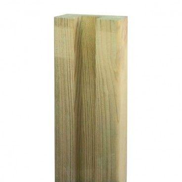 Słupek ogrodzeniowy drewniany GoodHome Neva 4,5 x 9 x 240 cm