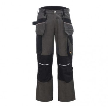 Spodnie z kieszeniami Site Tanuki szaro-czarne W38 L32 48