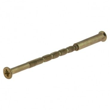 Śrubka z nakrętką Metalbud 70 mm komplet mosiądz