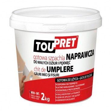 Szpachla naprawcza Toupret gotowa 2 kg