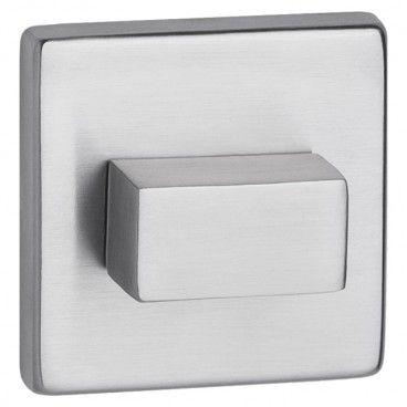 Szyld drzwiowy Metalbud dolny kwadratowy WC stal nierdzewna