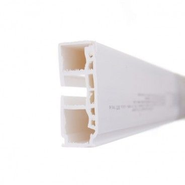 Szyna sufitowa GK1 1-torowa biała 300 cm