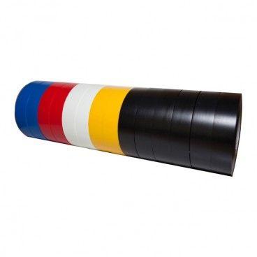 Taśma izolacyjna Diall PCV 19 mm x 33 m mix 14 szt.