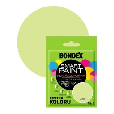 Tester farby Bondex Smart Paint be happy 40 ml