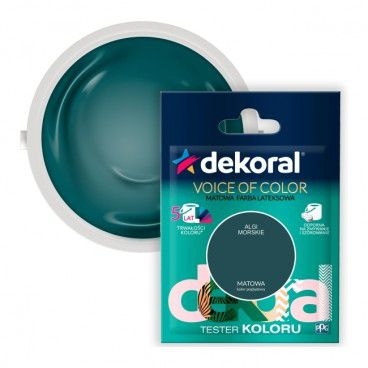 Tester farby Dekoral Voice of Color algi morskie 0,05 l