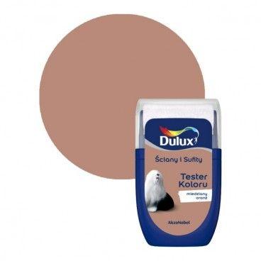 Tester farby Dulux Ściany i Sufity miedziany oranż 0,03 l