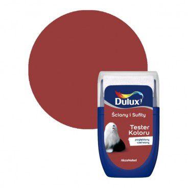 Tester farby Dulux Ściany i Sufity pogłębiony czerwony 0,03 l