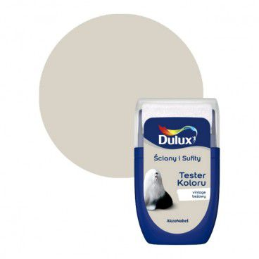 Tester farby Dulux Ściany i Sufity vintage beżowy 0,03 l