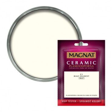 Tester farby Magnat Ceramic biały diament 0,03 l