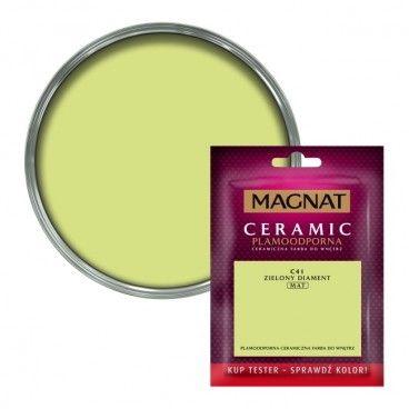 Tester farby Magnat Ceramic zielony diament 0,03 l