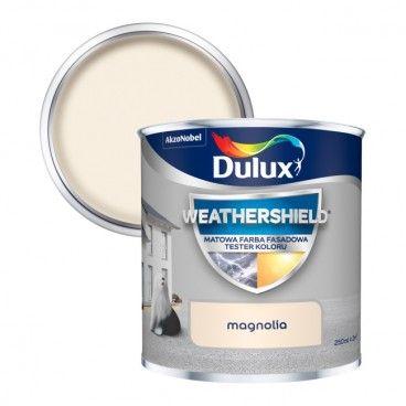 Tester farby elewacyjnej Dulux magnolia 250 ml