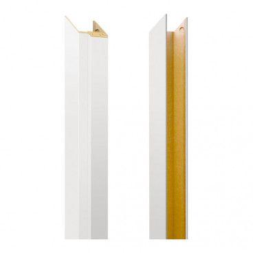 Tunel baza ościeżnicy regulowana 80-100 mm lewy biały