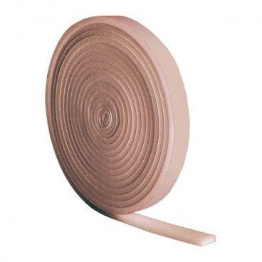 Uszczelka pianka Diall 10 m 19 mm brązowa
