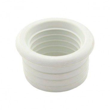 Uszczelka redukcyjna 40/32 mm wargowa biała