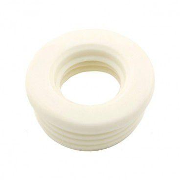 Uszczelka redukcyjna 50/25 mm biała