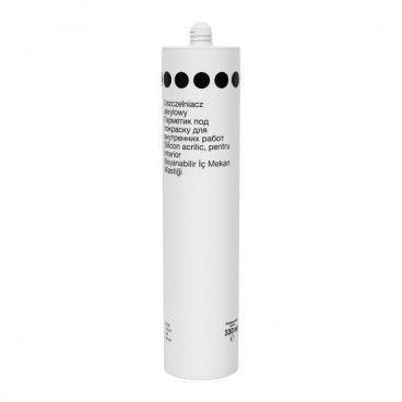 Uszczelniacz akrylowy 300 ml biały