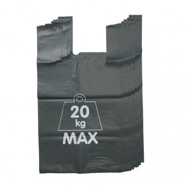 Worki na odpady Verve 120 l zielone 10 szt.
