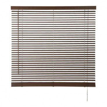 Żaluzja drewniana Colours Cana 75 x 180 cm ciemna