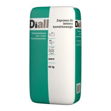 Zaprawa Diall do betonu komórkowego 25 kg