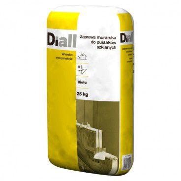 Zaprawa Diall do pustaków szklanych 25 kg