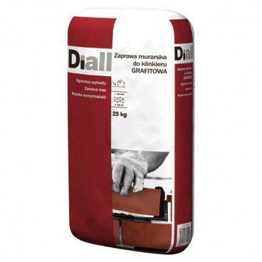 Zaprawa klinkierowa Diall 25 kg grafitowa