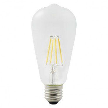 Żarówka LED Diall ST64 E27 4 W 470 lm przezroczysta barwa ciepła