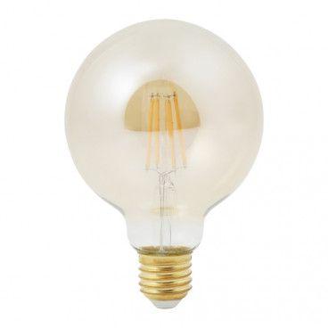 Żarówka dekoracyjna LED Diall G95 E27 5,5 W 470 lm amber