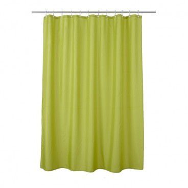 Zasłonka prysznicowa Diani 180 x 200 cm zielona
