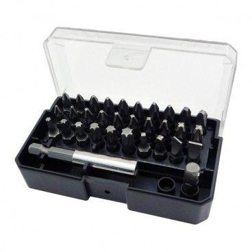 Zestaw bitów Universal z uchwytem magnetycznym 25 mm mix 32 szt.
