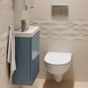 Zestaw mebli łazienkowych Imandra 44 cm niebieski