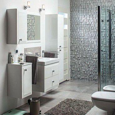 Zestaw mebli łazienkowych Vena biały