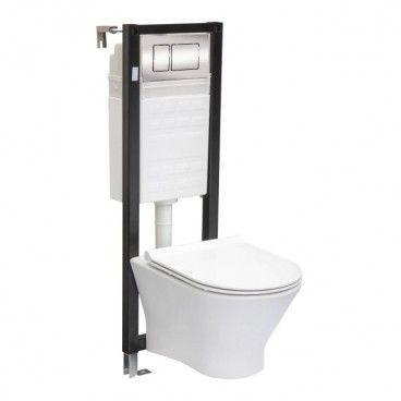 Zestaw podtynkowy WC Roca Nexo Slim