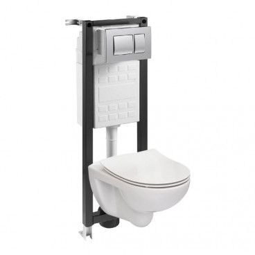 Zestaw podtynkowy WC Roca Nora 35 cm