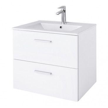 Zestaw szafka łazienkowa Slapton z umywalką